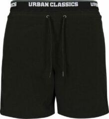 Urban classics Heren zwembroek Two in One Swim Shorts zwart