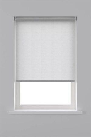 Afbeelding van Decosol rolgordijn lichtdoorlatend - 90x250 cm - transparant wit