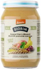 Biobim Muesli Appel Kers 10+ Maanden Demeter Bio (250g)