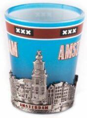 Matix Shotglas Metallic Amsterdam Middle - Souvenir