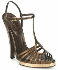 Gouden Sandalen Roberto Cavalli QDS627-PM027