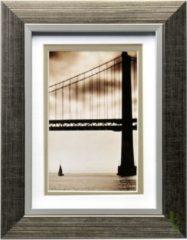 Goudkleurige Henzo Fotolijst - Frisco Bay - Fotomaat 15x20 Cm - Goud