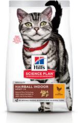 Hill's Feline Adult Hairball&Indoor Kip 3 kg