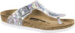 Zilveren Birkenstock Slippers Kinderen Gizeh - 1008093 Silver - Smal