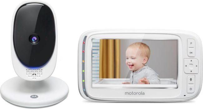 """Afbeelding van Motorola Comfort50 Babyfoon - 5"""""""" Kleurenscherm - Infrarood Nachtzicht"""