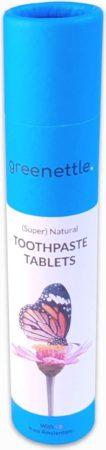 Afbeelding van Groene Greenettle Tandpasta Tabletten met Fluoride (2-pack)