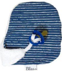 Wallabiezzz - Speendoekje - Speen Knuffeldoekje - Streep Blauw