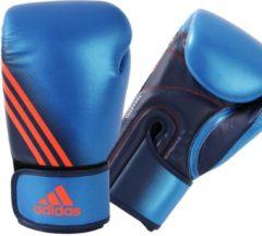 Blauwe Adidas Speed 200 (Kick)Bokshandschoenen 10 oz