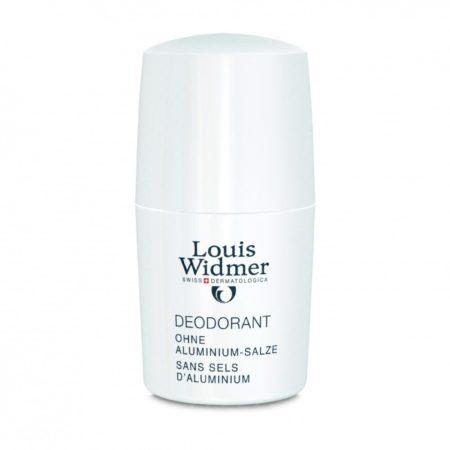 Afbeelding van Louis Widmer Deodorant Roll-On Zonder Aluminiumzouten Ongeparfumeerd Deodorant Roll-on 50 ml