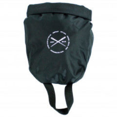 Zwarte Restrap DRY BAG 4L - Enkele Rolsluiting