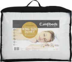 Witte Topkwaliteit Comfibeds 4-seizoenendekbed (Kingsize) 240 x 220