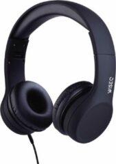 WISEQ Junior – Bedrade koptelefoon kind - Kinderkoptelefoon met kabel voor jonge kinderen tot 11 jaar oud - zwart