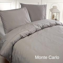 Grijze Papillon dekbedovertrek Monte Carlo (Grey) Maat: 1-Persoons 140x200/220 cm