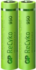 GP batterijen Oplaadbare AAA batterij (potlood) GP Batteries ReCyko+ HR03 NiMH 950 mAh 1.2 V 2 stuk(s)