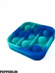 Blij Kind Pretpakket - Fidget - Pop it - Fidgetpakket - Popit pakket - Duurzaam - Vierkant - Mini - Marbles