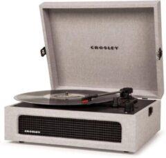 Crosley Voyager Grey platenspeler met Bluetooth
