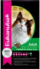 4x Eukanuba Kat Adult Hairball Control Kip - Lever 2 kg