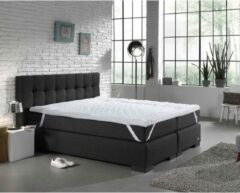 Swiss Night 7-zone Topper - Topper - Micropercal - 80 x 200 - Wit
