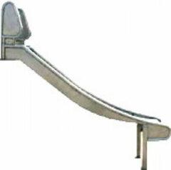 Roestvrijstalen Intergard Glijbaan RVS voor speeltoestellen (platformhoogte 250cm)
