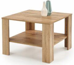 Home Style Vierkante salontafel Kwadro 70x53x70 cm breed in votan eiken