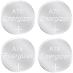 Zilveren Energizer knoopcelbatterij LR44/A76 Alkaline 1,5V 4 stuks