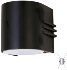 Albert Wandlamp Facade met 2 powerleds up en down Albert-Leuchten 662308