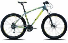 27,5+ Mountainbike Legnano Duran 27 Gang Legnano matt-dunkelgrau-gelb