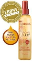 Creme of Nature - Argan Oil - Strength&Shine - Leave-In Conditioner - Krullend Haar- 250 ml