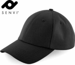 Senvi Authentic Baseball Cap Zwart (One size fits all)