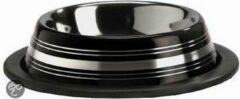 Pet Products Rvs Eet Drinkb Stripes Anti Zwart 11cm
