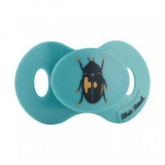 Blauwe Elodie Details mini fopspeen 0-3m - Tiny Beetle