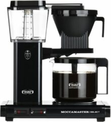 Technivorm Filterkoffiemachine KBG Select, Matt Black - Moccamaster