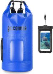 """GearBest """"Gocomma 20L Waterproof Kayaking Bag - Blue"""""""