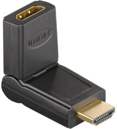 Afbeelding van Zwarte Goobay A 343 HDMI HDMI kabeladapter/verloopstukje