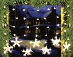 Heute-wohnen LED Lichtervorhang Sternenvorhang Lichterkette Sterne Deko