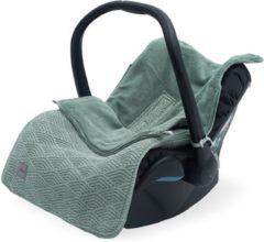 Groene Jollein voetenzak - Comfortbag - groep 0+ - River knit ash green