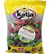 Rode Snoepgoed Katja zure matjes 1 kilo Veggie