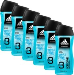 Adidas Douchegel 3in1 Ice Dive 6 x 250 ml
