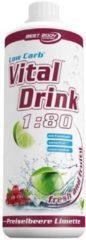 Best Body Nutrition Vital Drink Konzentrat - 1000ml - Cranberry Lime
