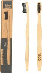 TBF - THE Boo Family The BOO family - Volwassene tandenborstel - bamboe - zwart - 4 st./pcs