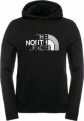 Zwarte The North Face Drew Peak Pullover Hoodie Trui Heren - Tnf Black/Tnf Black - Maat S