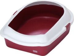 Ebi Cat toilet space Rood 43x56x14CM