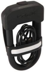 Zwarte Hiplok Easy Carry beugelslot met kabel - Beugelsloten