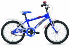 18 Zoll Legnano Spyder Kinder Fahrrad Jungenrad Singlespeed Legnano blau-weiß