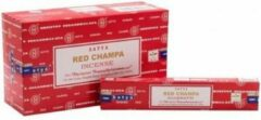Nag Champa Wierook satya red champa 15 Gram