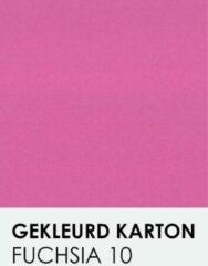 Roze Gekleurdkarton notrakkarton Gekleurd karton fuchsia 10 A4 270 gr.