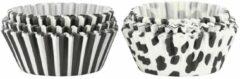 HEMA Muffinvormpjes - 150 Stuks (grijs)