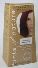 Tints Of Nature Permanent hair colour dark henna red verp.