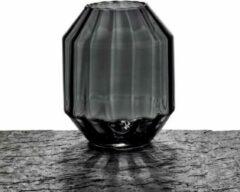 Maison Péderrey Vaas Mond geblazen glas Glas Zwart D 23 cm H 28 cm
