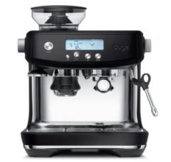 Zwarte Sage Barista Pro Black Truffel - Espressomachine